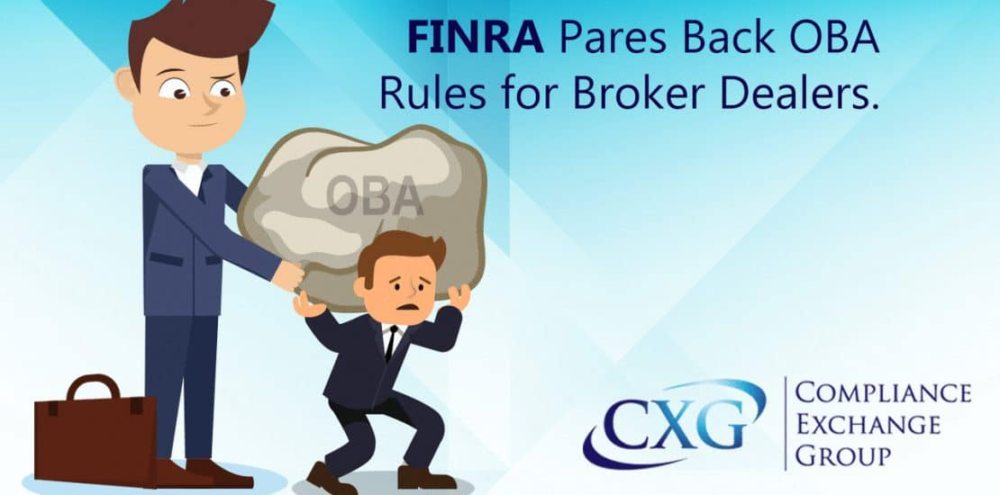FINRA Proposes New OBA Rules For Broker Dealers